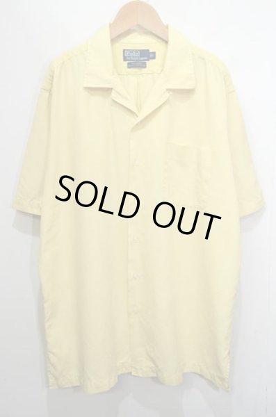 """画像1: 90's POLO Ralph Lauren S/S オープンカラーシャツ """"コットン×シルク"""" (1)"""
