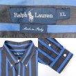 """画像3: 90's Polo Ralph Lauren ストライプ柄 ボタンダウンシャツ """"MADE IN ITALY"""" (3)"""
