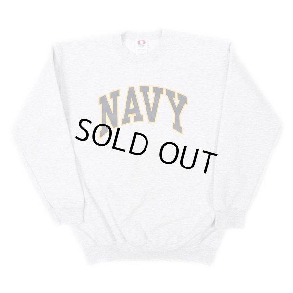 画像1: 90-00's US.NAVY スウェットシャツ (1)