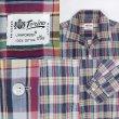 画像3: 60's Torino マドラスチェック柄 オープンカラーシャツ (3)