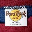 """画像3: 90's Hard Rock CAFE リバースウィーブタイプ スウェット """"MADE IN USA"""" (3)"""