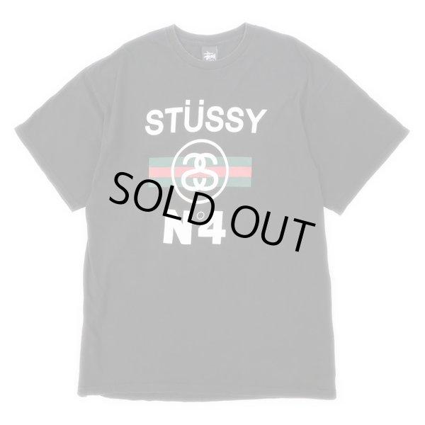 画像1: STUSSY シャネルロゴ プリントTシャツ (1)