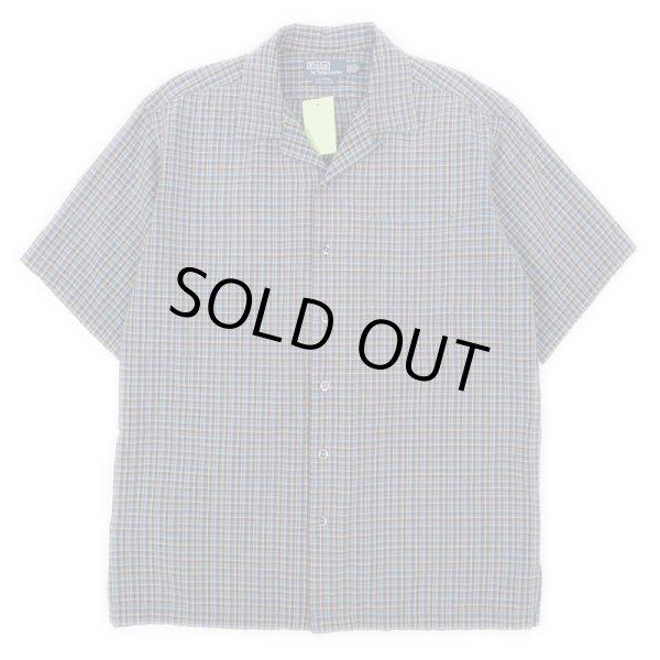 """画像1: 90's Polo Ralph Lauren S/S オープンカラーシャツ """"CALDWELL"""" (1)"""