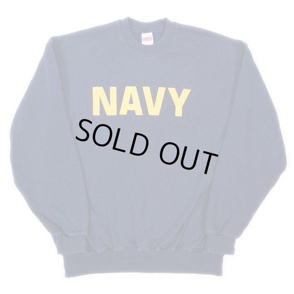 画像1: US.NAVY スウェットシャツ (1)