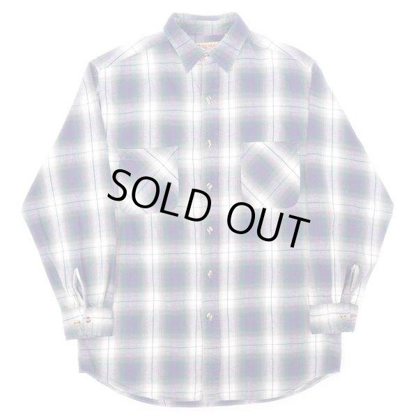 画像1: 90's BIG MAC オンブレチェック柄 フランネルシャツ (1)