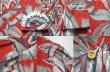 画像4: 80-90's BANANA REPUBLIC S/S 総柄 レーヨンオープンカラーシャツ (4)