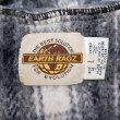 画像3: 90's EARTH RAGZ チェック柄 メキシカンパーカー (3)