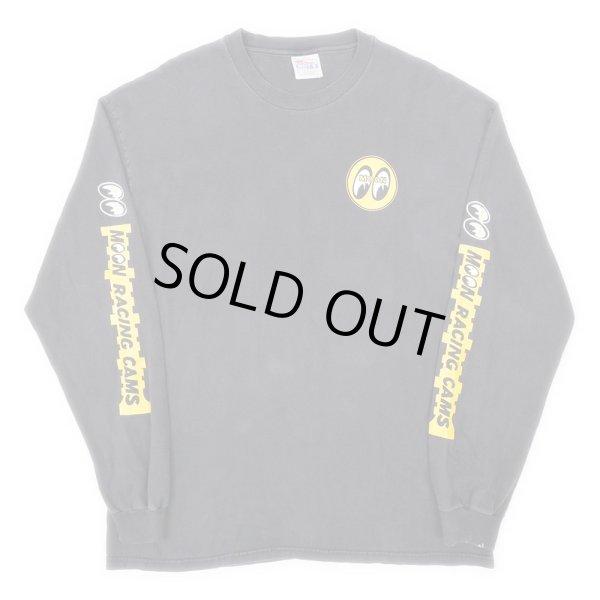 画像1: 90's MOONEYES L/S Tシャツ (1)