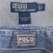画像3: 90's Polo Ralph Lauren ヒッコリーストライプ柄 ワークジャケット (3)