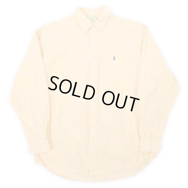 """画像1: 90's Polo Ralph Lauren ボタンダウンシャツ """"BLAKE / YELLOW"""" (1)"""
