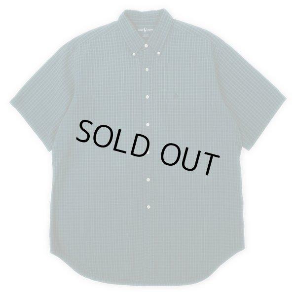 """画像1: 90's POLO Ralph Lauren S/S ボタンダウンシャツ """"BLAKE"""" (1)"""