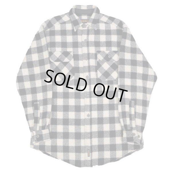 画像1: Woolrich ブロックチェック柄 ウールシャツ (1)