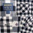 画像3: Woolrich ブロックチェック柄 ウールシャツ (3)