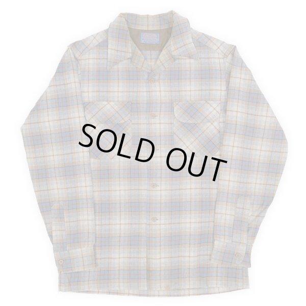 """画像1: 70's Pendleton ウールシャツ """"GRAY BASE / MADE IN USA"""" (1)"""