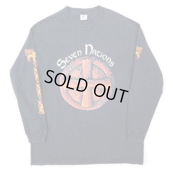 画像1: 90-00's SEVEN NATIONS L/S バンドTシャツ (1)
