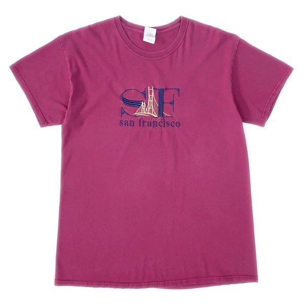 画像1: 00's SAN FRANCISCO スーベニアTシャツ (1)
