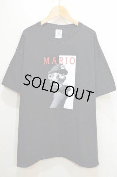 画像1: 00's MARIO プリントTシャツ (1)